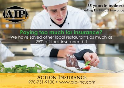 AIP postcard front